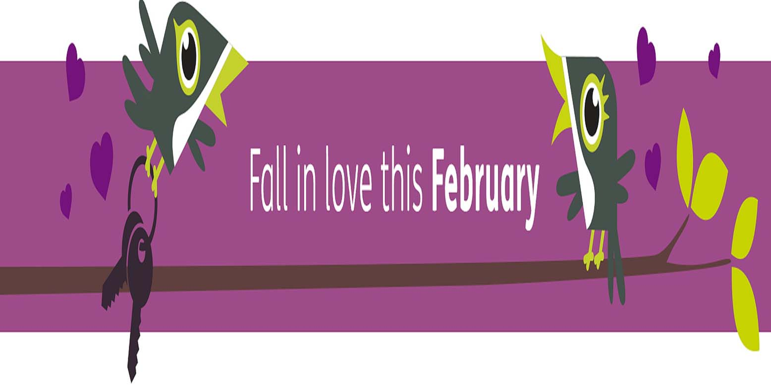 fall in love this february header
